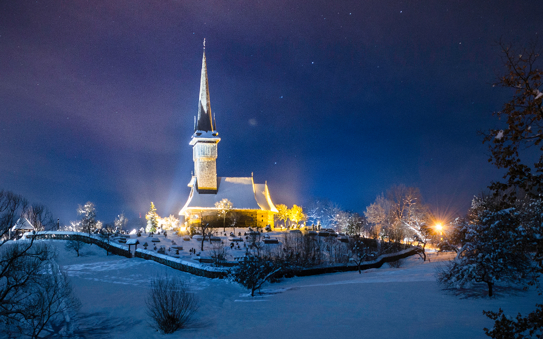 "Biserica de lemn ""Sfinții Arhangheli Mihail și Gavril"" din Plopiş"