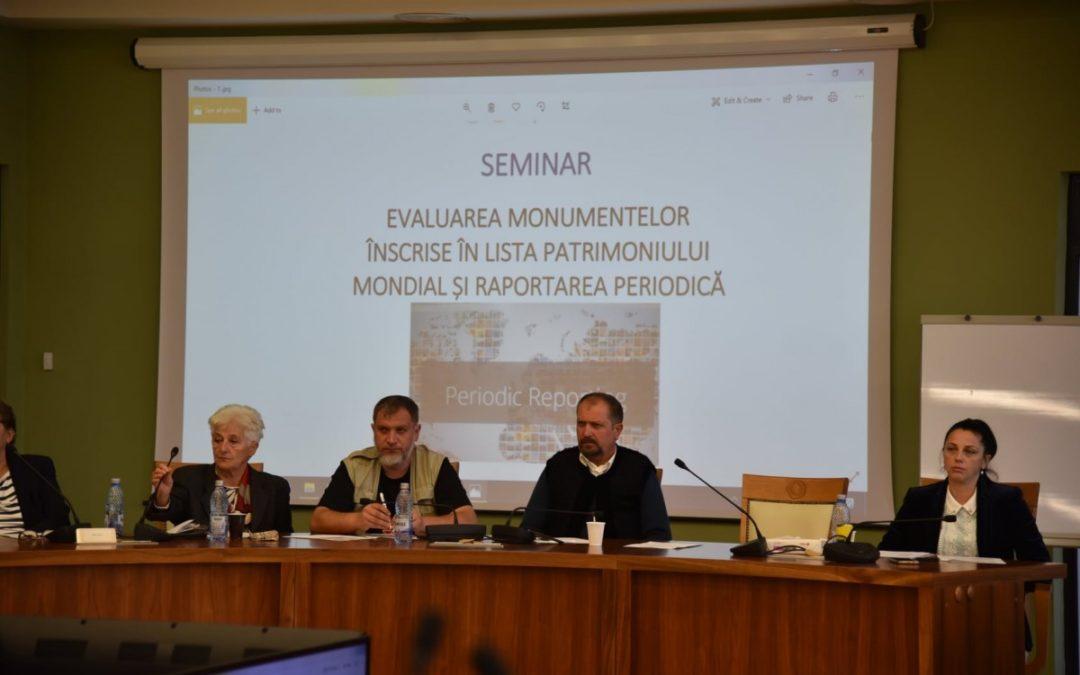 """Proiectul de promovare a patrimoniului cultural """"Biserici din Chioar. Tururi Virtuale"""", prezentat în cadrul Seminarului """"Managementul siturilor UNESCO din România"""""""