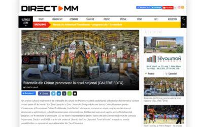 directmm.ro – Bisericile din Chioar, promovate la nivel naţional
