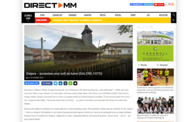 """Fragment din jurnalul de teren """"Biserici din Ţara Chioarului. Tururi Virtuale"""" publicat în ziarul directmm.ro"""