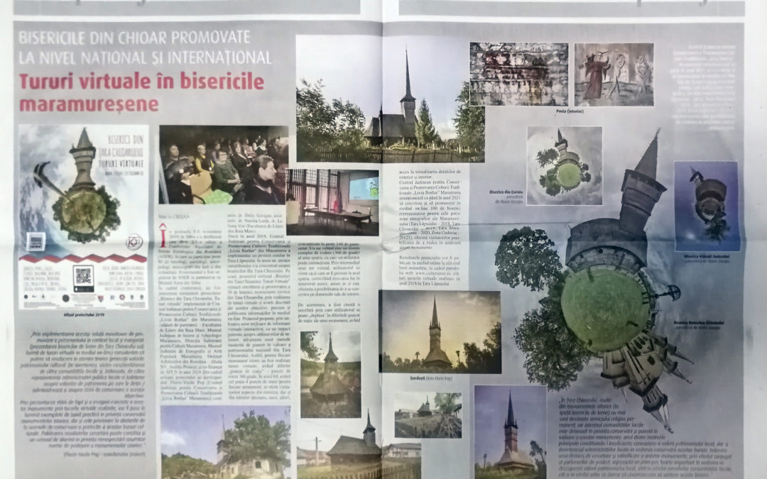 Gazeta de Maramureş: Bisericile din Chioar promovate la nivel național şi internaţional