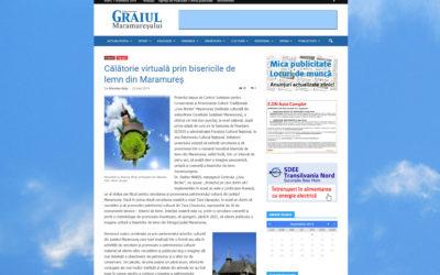 Graiul Maramureşului – Călătorie virtuală prin bisericile de lemn din Maramureş