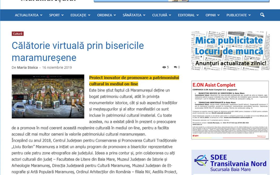 Graiul Maramureșului – Proiect inovator de promovare a patrimoniului cultural în mediul on-line