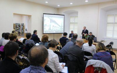 """Proiectul """"Biserici din Ţara Chioarului. Tururi virtuale"""" a fost prezentat în cadrul Sesiunii Anuale de Comunicări Ştiinţifice a Muzeului Judeţean de Istorie şi Arheologie Maramureş"""